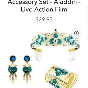 Princess jasmine costume accessories set